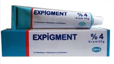 Expigment Krem Ciltteki Leke Sorununu Çözüyor!