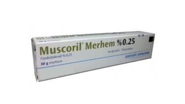 Muscoril Merhem Ne İçin Kullanılır?